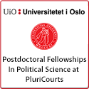 Postdoctoral Fellowships in Political Science at PluriCourts