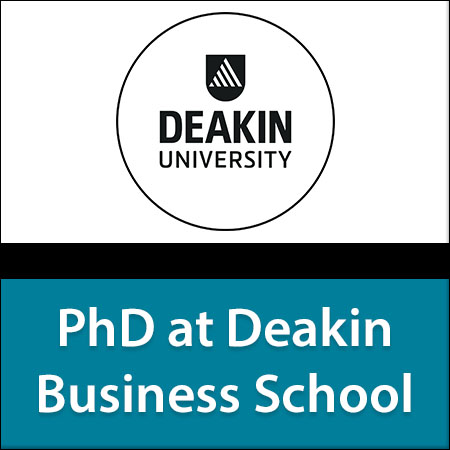 PhD at Deakin Business School