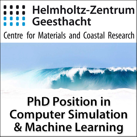 PhD Position in Computer Simulation & Machine Learning