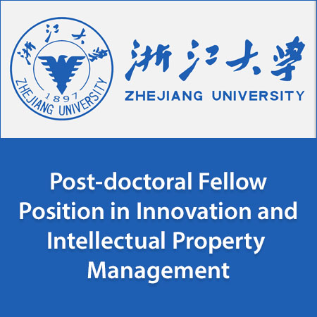 Post-doctoral Fellow Position in Innovation and Intellectual Property Management