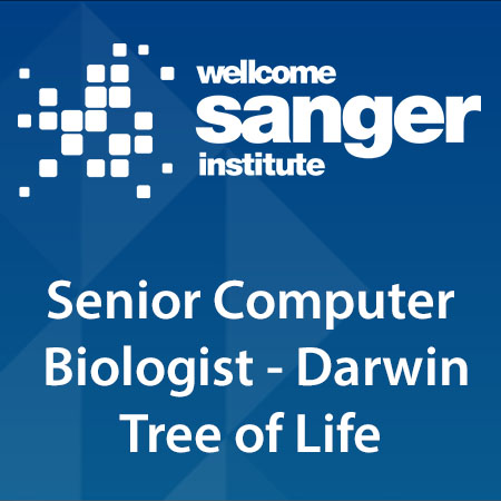 Senior Computer Biologist - Darwin Tree of Life
