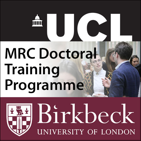 UCL-Birkbeck MRC Doctoral Training Programme across 4 strategic themes