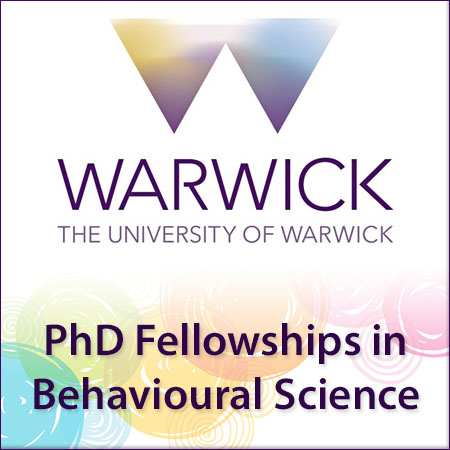 PhD Fellowships in Behavioural Science