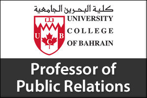 Associate/Assistant Professor of Public Relations