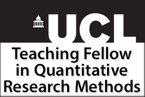 Teaching Fellow in Quantitative Research Methods