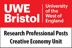 Research Professional Posts, Creative Economy Unit