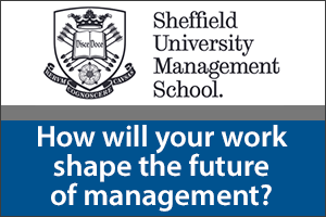 How will your work shape the future of management?