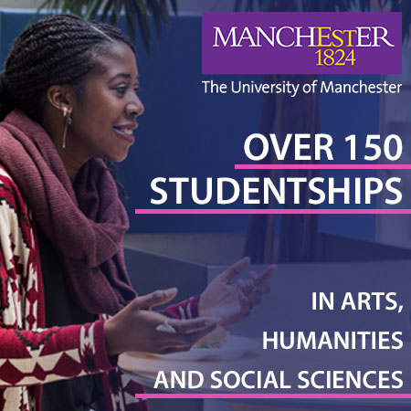 Fully-funded PhDs in Arts, Humanities and Social Sciences