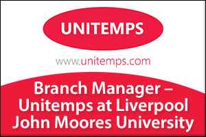 Branch Manager - Unitemps at Liverpool John Moores University