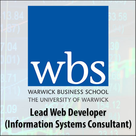 Lead Web Developer (Information Systems Consultant)