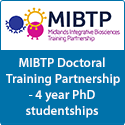 MIBTP Doctoral Training Partnership - 4 year PhD studentships