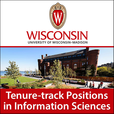 Tenure-track positions in Information Sciences