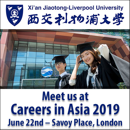 opportunities at XJTLU