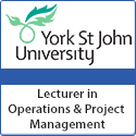 Lecturer in Operations and Project Management