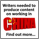 Writers Needed To Produce Content About Working In China
