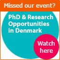 #jobsQ Live Video Hangout: PhD & Research Opportunities in Denmark