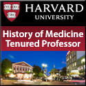 History of Medicine Tenured Professor
