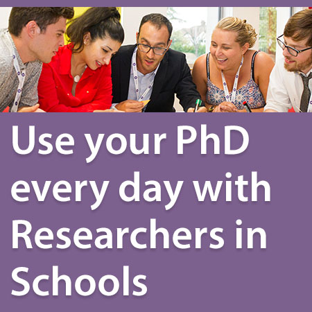 Researchers in Schools Programme