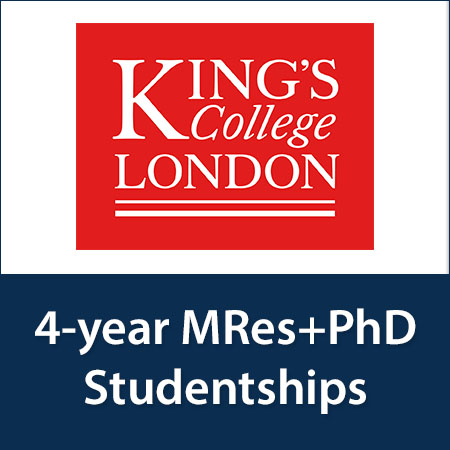 4-year MRes+PhD Studentships