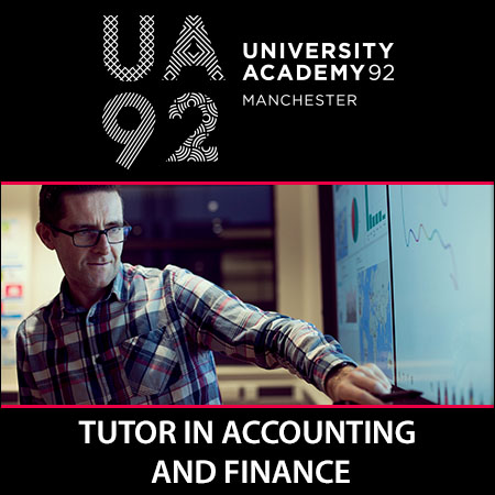 Tutor in Accounting and Finance