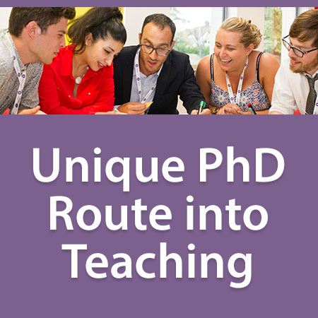 Unique PhD Route into Teaching