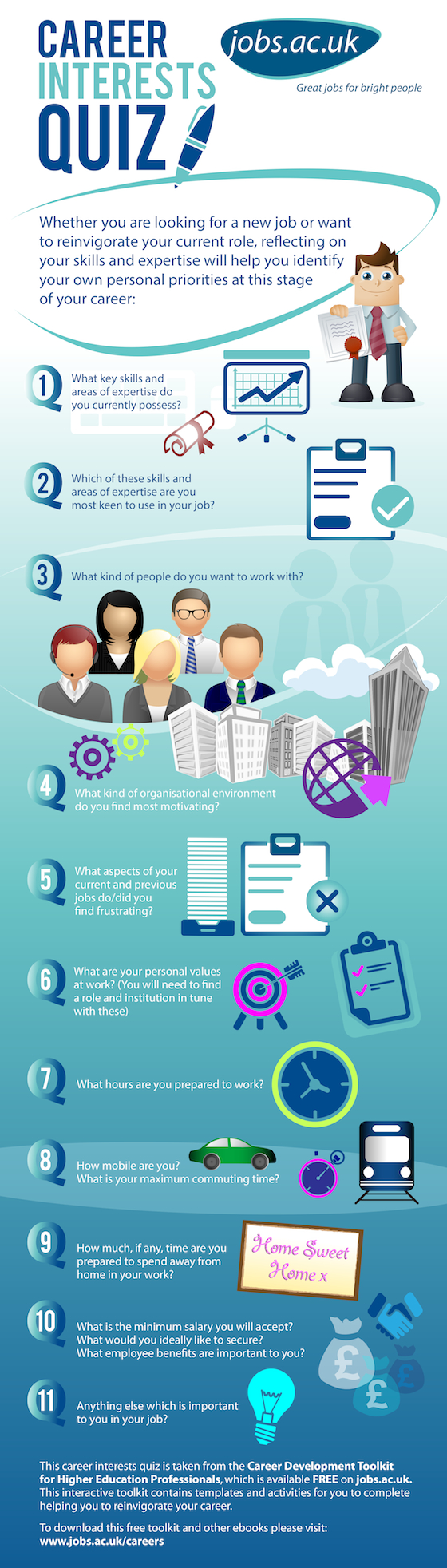 interests quiz infographic career interests quiz infographic