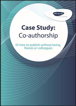 Case Study: Co-authorship - Or how to publish without losing friends or colleagues