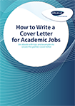 How to Write a Cover Letter for Academic Jobs