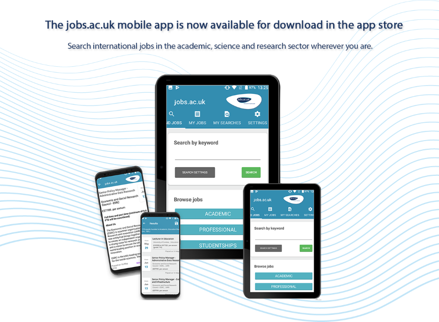 Job App   Job Alert on Mobile   Job Application - jobs ac uk
