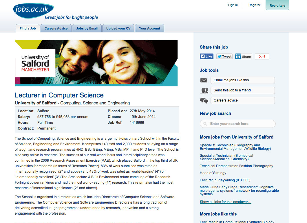 standardplus Job Advert Examples Ks on