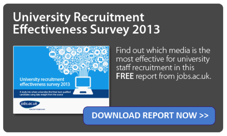Download University Recruitment Effectiveness Survey 2013